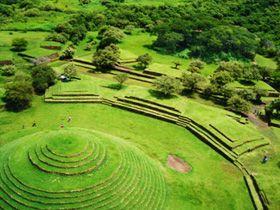Guachimontones pyramids; Mexico. Unicas piramides circulares en el mundo. A 30 kms de Guadalajara Mexico.