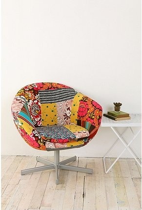 love funky chairs like this!