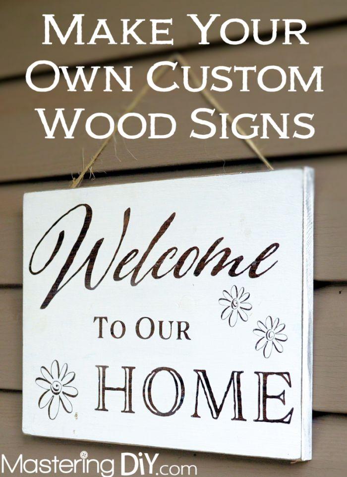 Best 25 Custom Wood Ideas On Pinterest Gbp Sign Diy