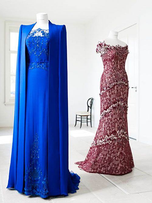 Jan Taminiau designed not only the Royal Blue Dress, but the evening dress worn by Queen Máxima.