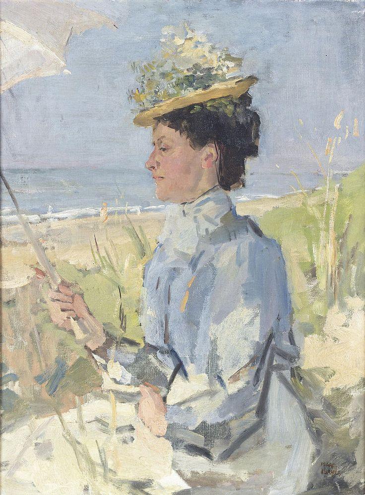 Isaac Israëls (1865-1934) - Portrait of Martha Salomon