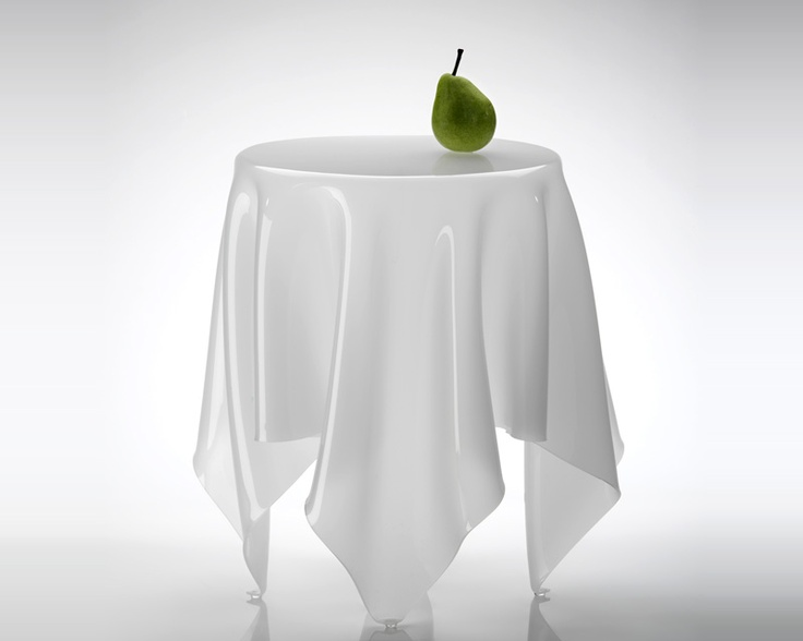 """Essey Ice tablecloth """"table"""" available at www.markantonis.eu"""
