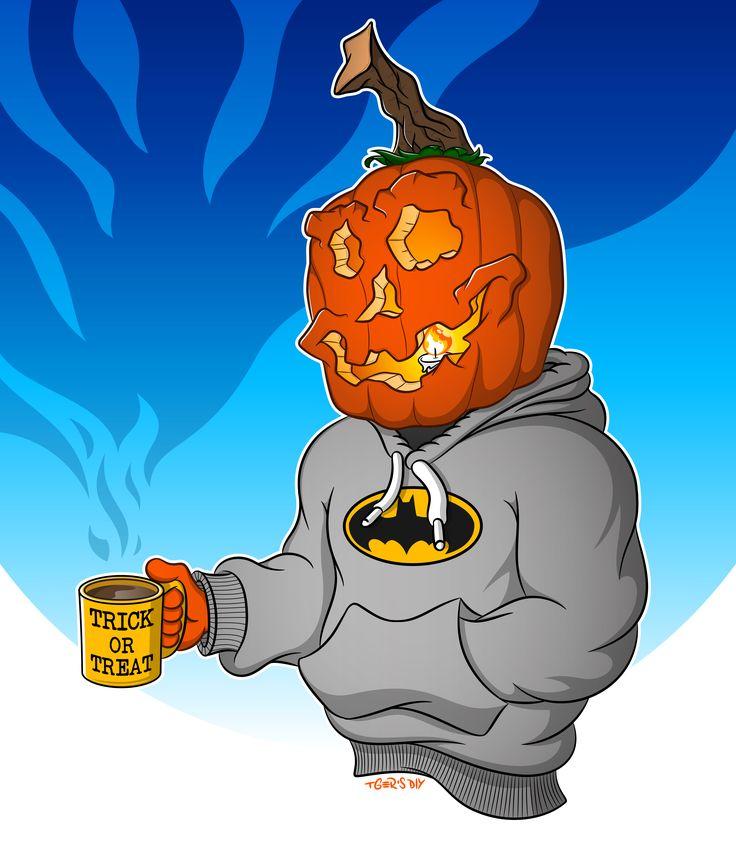 """Halloween Hangover"" Jack O' Lantern Character Design by Tobler Gergő aka TGer's DIY #tgersdiy Follow me on Pinterest.com/tgercojones"