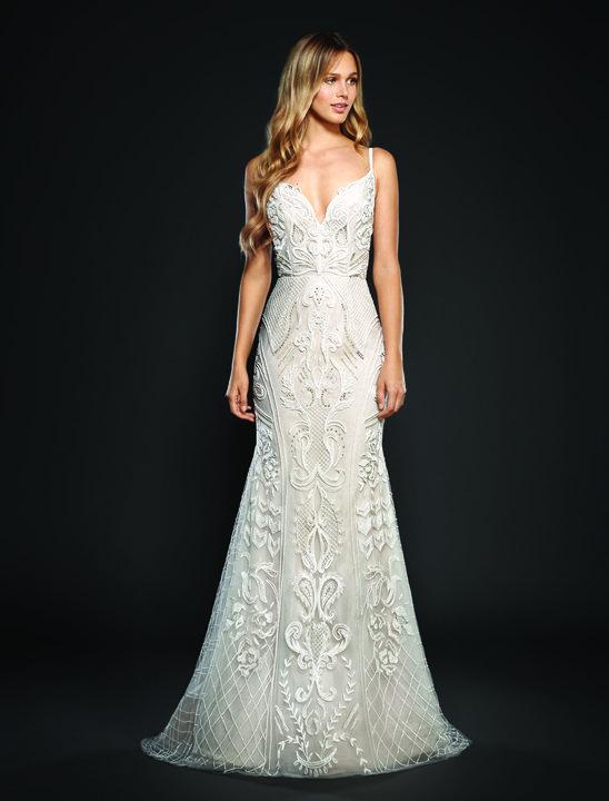 Belle en Blanc; Hayley Paige; Style 6706 Maverick