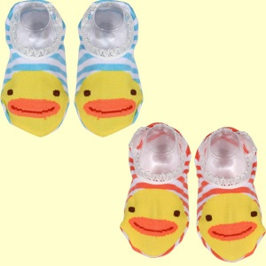 Dobutsu Baby Socks-Ducks