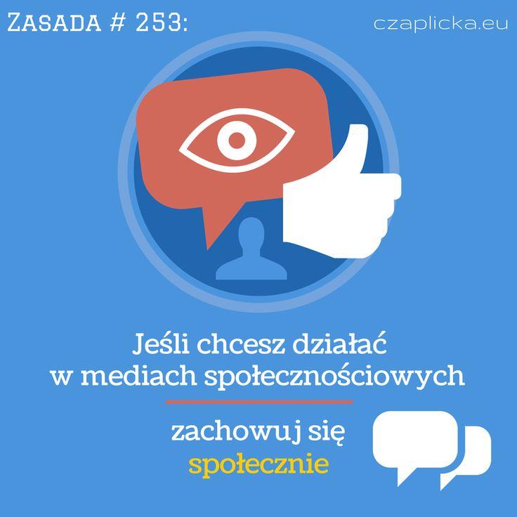 Zasada #253: społeczne = interakcje i zaufanie