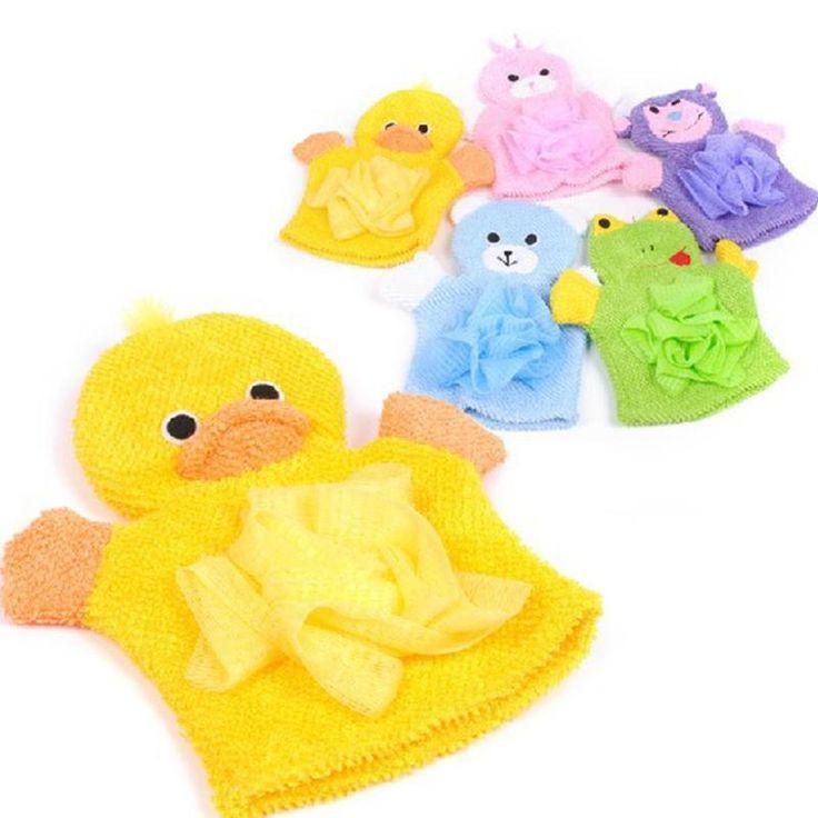 1 PZ Carino Bambini Bambino telo da bagno doccia balneazione 5 Colori Animali Stile Doccia Lavaggio Asciugamani di Stoffa