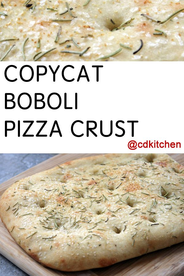Copycat Boboli Pizza Crust Recipe | CDKitchen.com