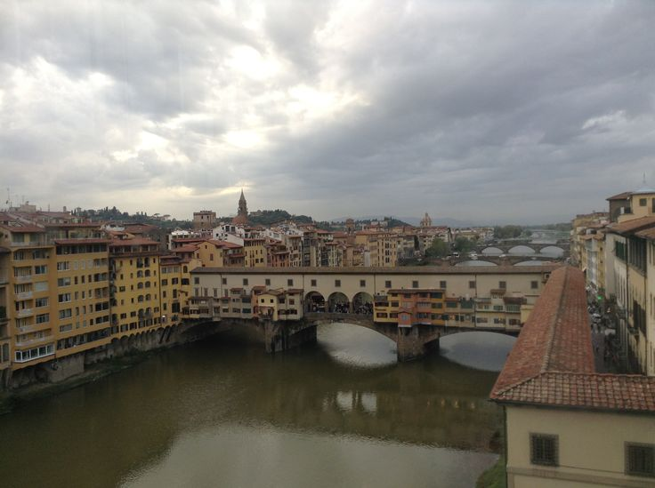 View from the Ponte Vecchio, Florence