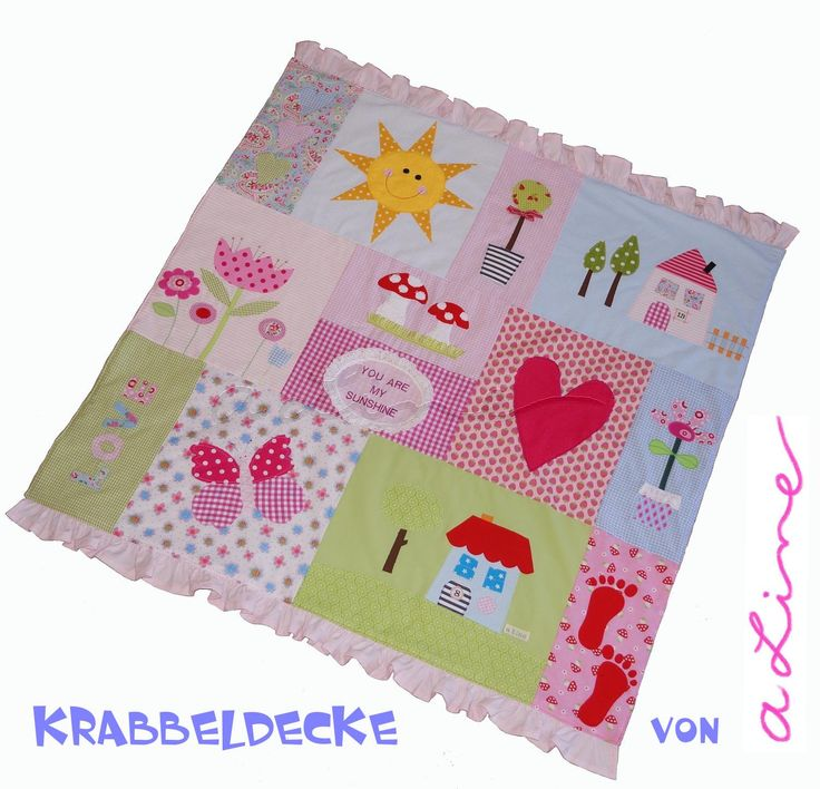 Baby blanket for the floor www.a-line.cc
