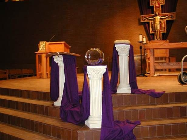 Advent church decorations bing images christmas for Advent decoration ideas