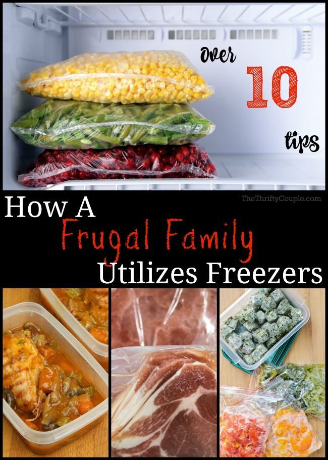 How To Use a Freezer To Save Big Money