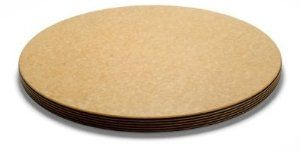 """Epicurean 014-001801025 Big Block Cutting Board,18-in Round,1-in Thick, Natural/Slate, Each by Epicurean. $169.00. Epicurean 014-001801025 Big Block Cutting Board,18-in Round,1-in Thick, Natural/Slate. Epicurean Big Block Series Cutting Board, 18"""" round, full 1"""" thick, natural cutting surface with slate edges and rubber feet on bottom. Meant to be left on counter. Epicurean cutting boards are exclusively made in the USA and will not dull knives. Cutting surfaces..."""