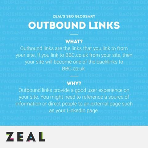 SEO Glossary: Outbound Links #SEO #Marketing