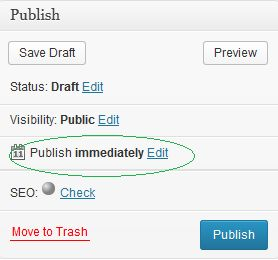 Publish Post even when you are Sleeping.