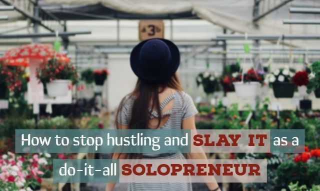 Juggling between different areas of your business will drain your energy and will stop you from focusing on areas or tasks that are directly related to moving the needle in your business. Find out how to be a solopreneur like a pro!