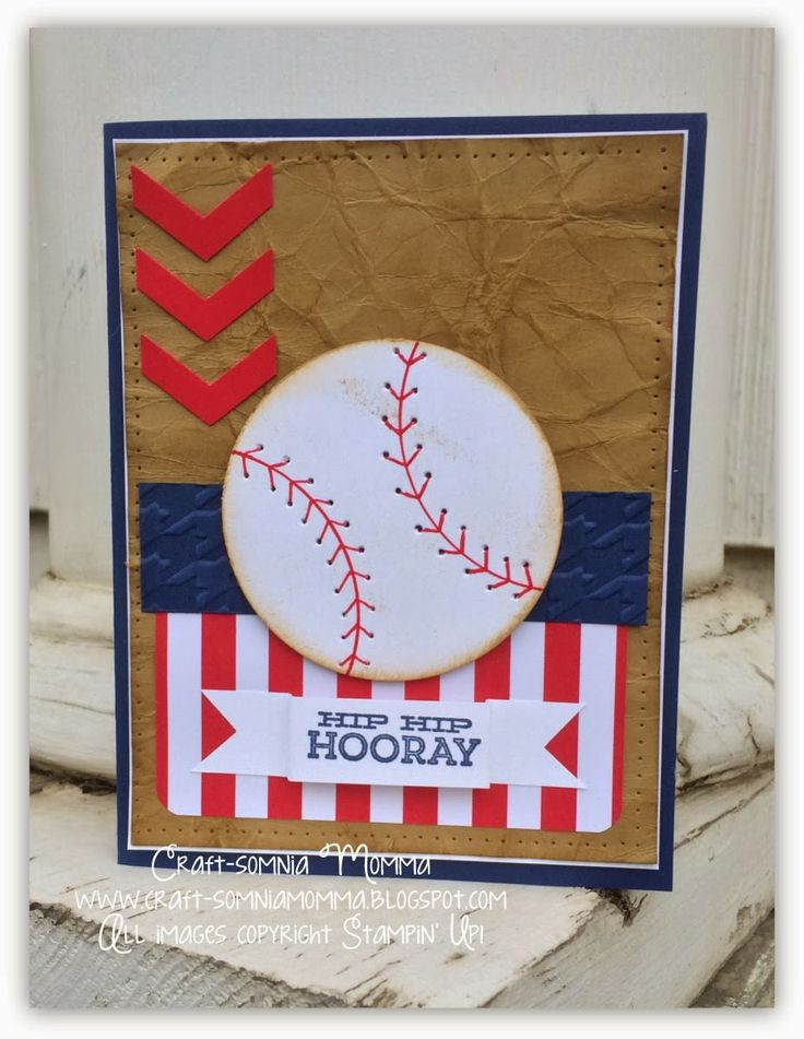 Take Me Out to the Ball Game ~ Craft-somnia Momma