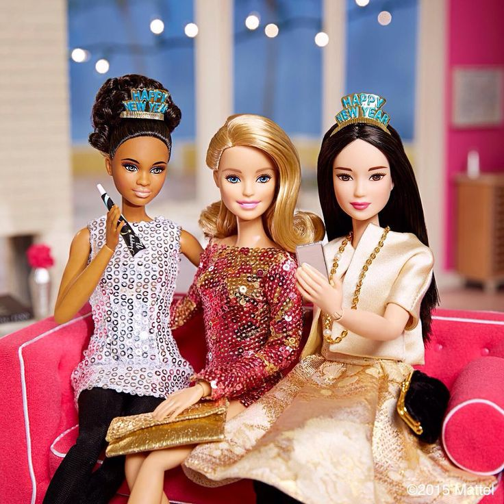Happy New Year! May 2016 be your most inspiring year yet!  #barbie #barbiestyle