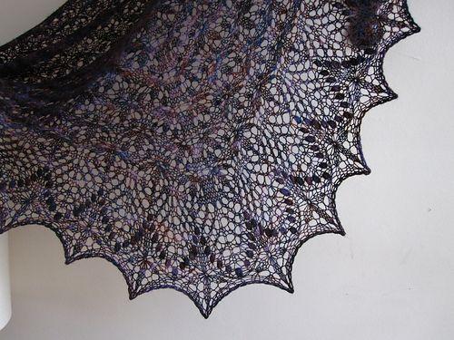 Estonian lace echo star flower