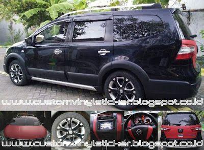Nissan Grand Livina Black - Custom Wrapp Body, Rims, Dashboard & Steering