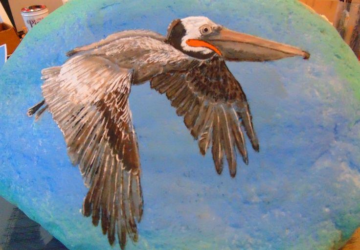 Pelican, by  CACRAFTS   Great doorstop  Sold