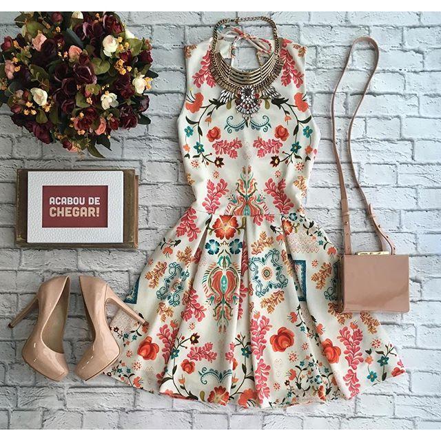 Instagram media estacaostore - Vestido Debora R$199,90 |