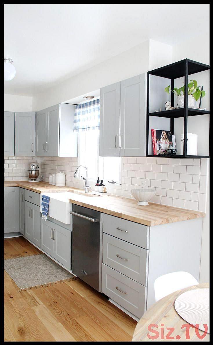 Most Up To Date Pics Grey Farmhouse Sink Style Being From Ireland And Having Inc Umbau Kleiner Kuche Kuchenstil Schrank Kuche