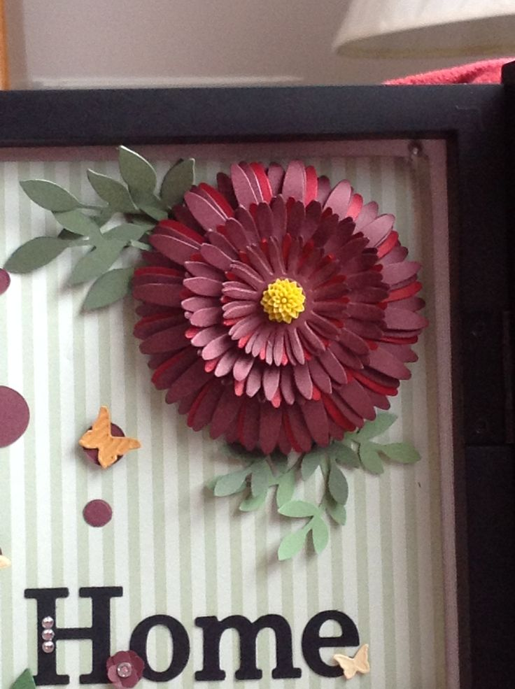 A bit of detail to one of the Home Sweet Home flowers