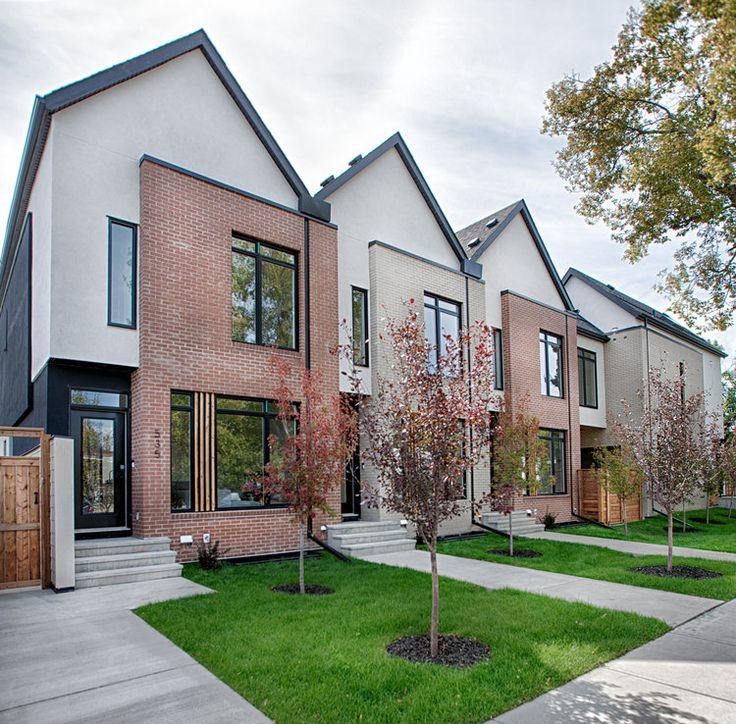 Modern Row House Plans: Row House Images On Pinterest