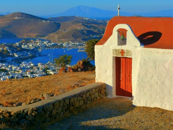 Skala in Patmos island