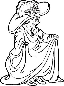 Fancy Nancy Coloring Pages 9 Gif 250 215 335 Colouring