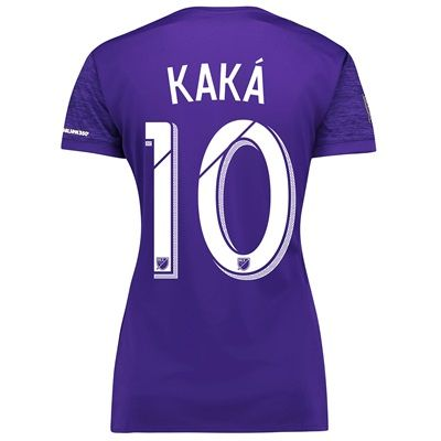 Orlando City SC Home Shirt 2017-18 - Womens with Kaká 10 printing, Purple: Orlando City SC Home Shirt… #Sport #Football #Rugby #IceHockey