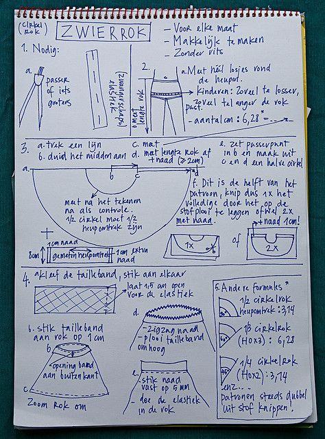 How to: cirkelrok by Mme Zsazsa, via Flickr