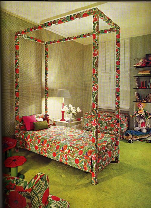 Vintage Kiddo Kid Bedrooms From The 60s And 70s Were