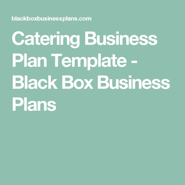 57 best images about catering business on Pinterest - catering contract