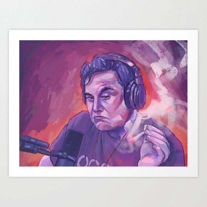 Elon Musk Art Print Art Prints Canvas Prints Art