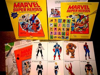 Marvel Super Heroes TSR Roleplaying Game from the 1984.