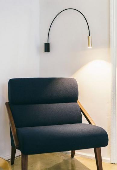 Volta 3530 kinkiet (Złota) - Estiluz | Designerskie Lampy & Oświetlenie LED