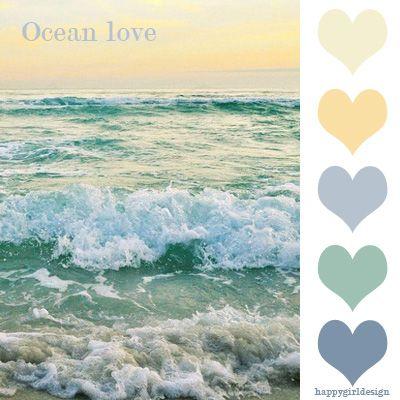 color board - Ocean Love