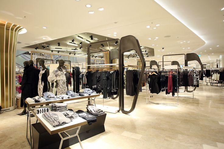 Womenu0027s Shoe Shop Design Hongjin Shop Fittings Pinterest