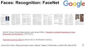 Image result for google facenet