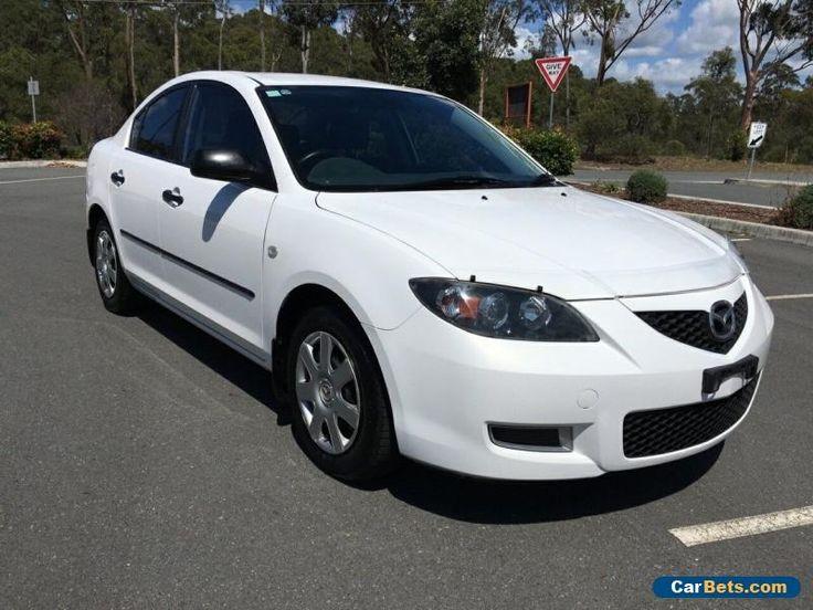 2007 Mazda 3 Neo Manual White Manual 5sp M Sedan #mazda #3 #forsale #australia