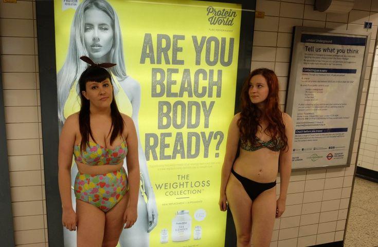 """V Londýně se realizuje kontroverzní zákaz reklamy zobrazující """"dokonalé ženské tělo"""". Ačkoli je londýnský starosta Sadiq Khan ve funkci teprve pár týdnů, je předmětem bouřlivých…"""