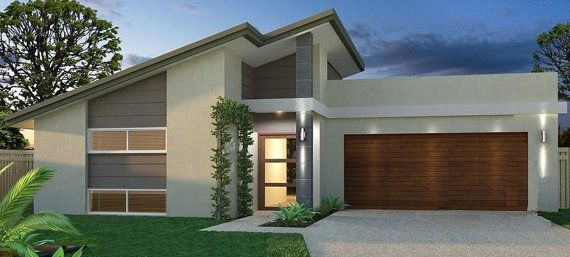 Narrow Lot House Plan  Home Design floor by AustralianHousePlans