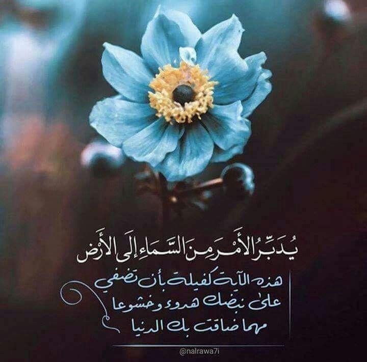 يدبر الأمر من السماء الي الارض Good Morning Quotes Good Morning Romantic Love Quotes
