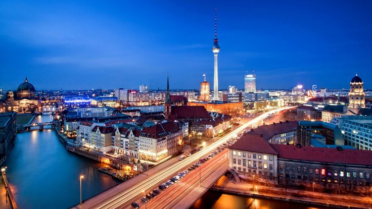 Download Wallpaper 3840x2160 Alexanderplatz, Berlin, Capital of ...