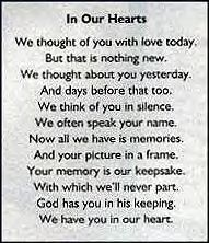 missing you always poem - Yahoo! Search Results