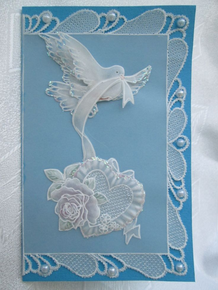 Пожелания, открытки в пергамано