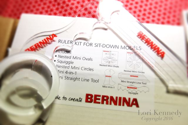 The Bernina Ruler Foot Is Here Machine Quilting Tutorial