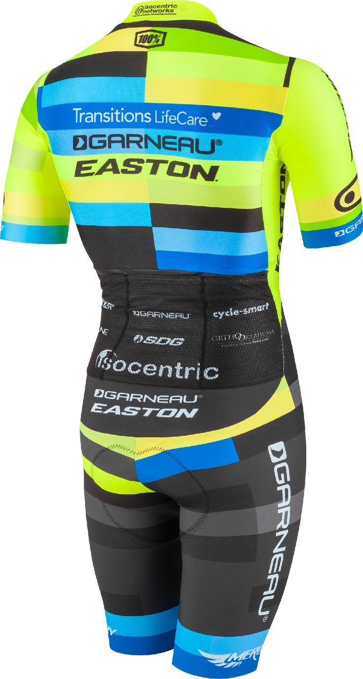 Custom cyclocross skinsuit for Garneau-Easton team